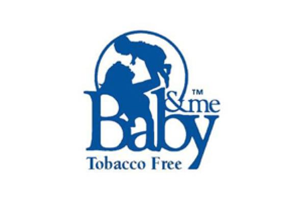 Baby & Me Tobacco Free Logo