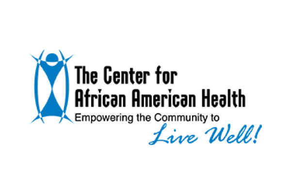 The Center for African American Health Logo