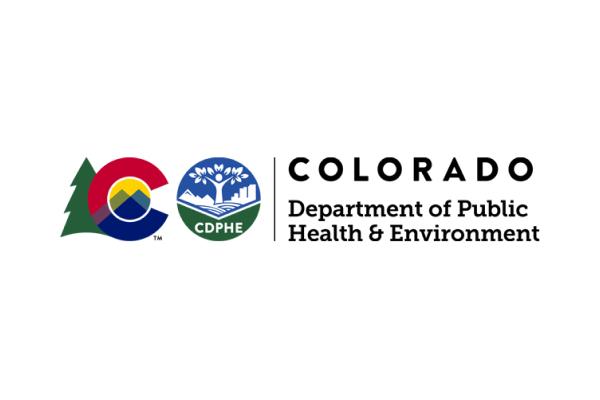 Colorado Department of Public Health & Environment Logo