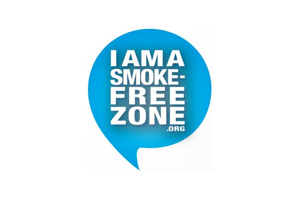 I am a Smoke-Free Zone Logo